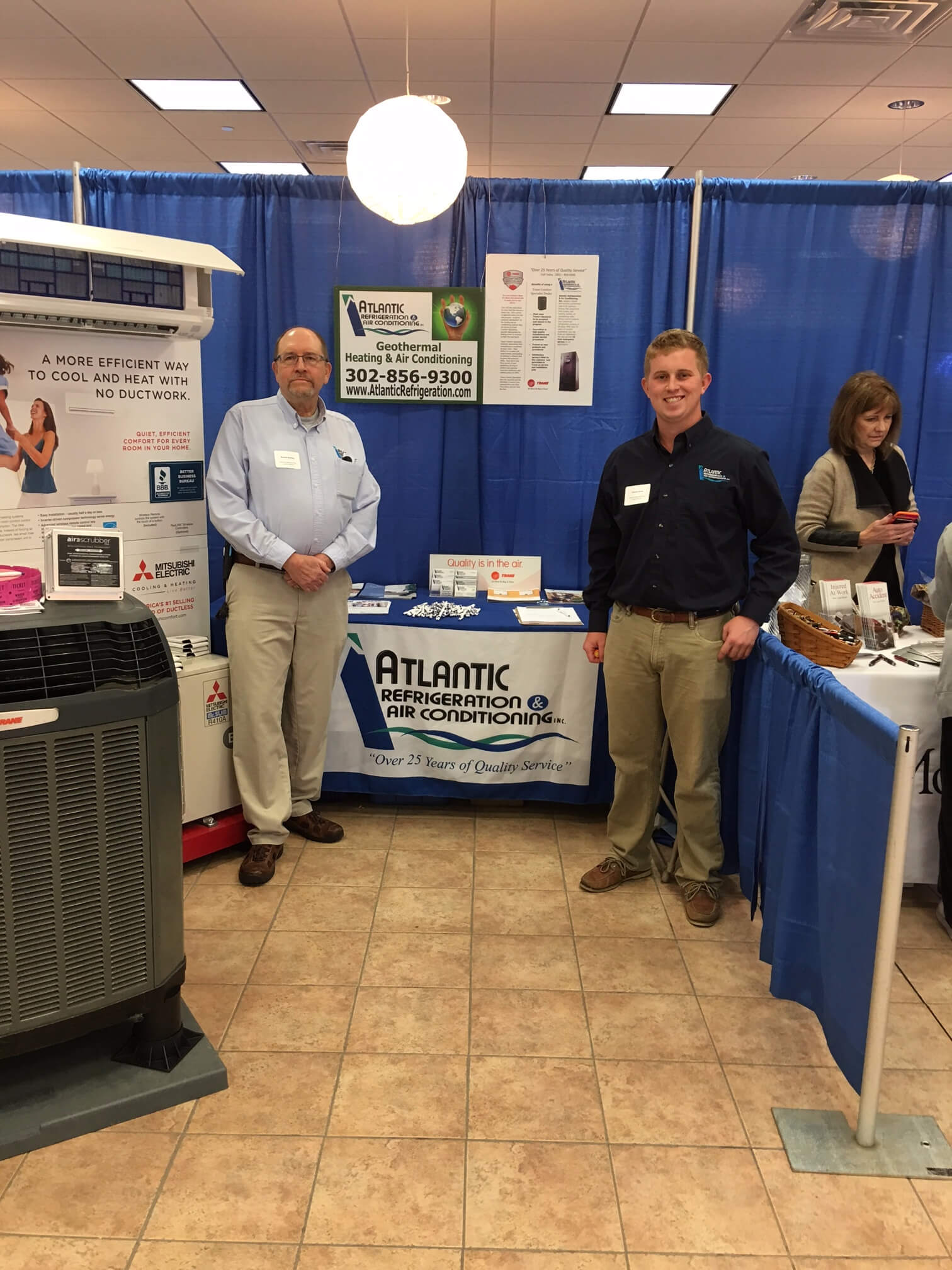 Atlantic Refrigeration at the 7th Annual Women's Expo