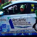 Our Certified Comfort Specialist, Connor Jones, drives a Atlantic Refridgeration & Air Conditioning, Inc. vehicle.